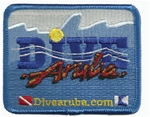 DIVE ARUBA PATCH - RECTANGLE