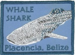 Belize Whale shark Plancecia Patch