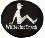White Hot Trash - Black and White