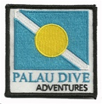 PALAU DIVE ADVENTURES PATCH