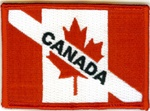 Canada Dive Flag Patch