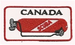 CANADA TANK PATCH