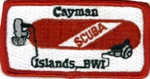 Cayman Islands BWI Tank Patch
