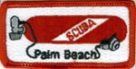 Florida Palm Beach Scuba Tank Patch