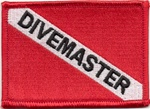 Dive Master Dive Flag Patch
