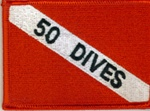 50 Dives Dive Flag