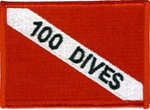 100 Dives Dive Flag