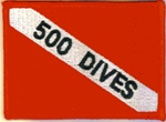500 Dives Dive Flag