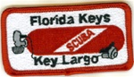 Florida Key Largo Tank Patch