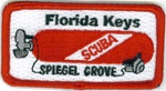 Florida Keys - Spiegel Grove Scuba Tank Patch