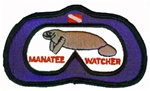 Manatee Watcher Patch