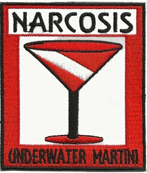 NARCOSIS - UNDERWATER MARTINI - WHOLESALE - 10 Patches
