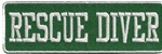 Rescue Diver - Green & White