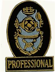 Professional Diver Patch Oval