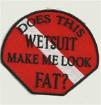 WETSUIT PATCH - DOES THIS WETSUIT MAKE ME LOOK FAT?