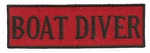 BOAT DIVER - Wholesale Pricing - 20 patches - $1.00 each