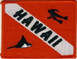 Hawaii Dive Flag Patch