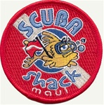 Hawaii Scuba Shack Dive Patch