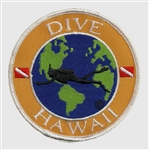 Hawaii Dive The World Patch