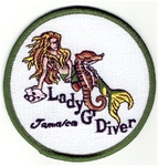 Jamaica Lady G Patch