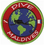 Maldives Dive The World Patch