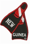 NEW GUINEA Fins Patch