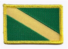 "Nitrox Dive Flag Patch - Medium  1.5"" x 2.5"" - Wholeslae 10 flags"
