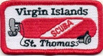 Virgin Islands - St. Thomas  Scuba Tank Patch