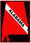 Alabama Dive Flag Patch