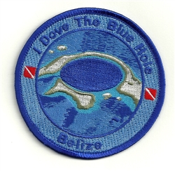 Belize Blue Hole Patch - I Dove The Blue Hole