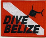 Belize Shark Flag Patch