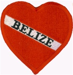 Belize Heart Patch