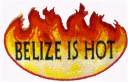 Belize Is Hot Patch