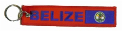Belize Key Ring / Zipper pull