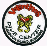 Bahamas Valentines Diver Center Patch