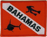 Bahamas Dive Flag Patch