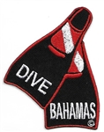 Bahamas Dive Fins Patch