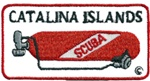 CA CATALINA ISLAND TANK PATCH - WHOLESALE - 20 PATCHES