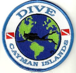 Cayman Islands  Dive The World Patch