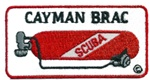 CAYMAN BRAC TANK PATCH