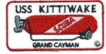 CAYMAN USS KITTIWAKE TANK PATCH