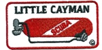 CAYMAN LITTLE CAYMAN TANK PATCH