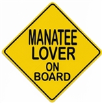 MANATEE LOVER ON BOARD