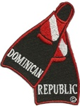 Dominican Republic Fin Patch