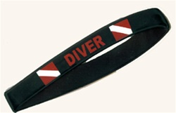 Diver Wristbands- Wholesale -  20 Wristbands