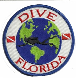 Florida Dive The World Patch