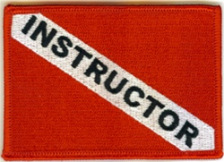Instructor Dive Flag Patch