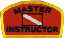 Master Instructor- Wholesale - 10 PATCHES