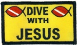 Dive With Jesus patch