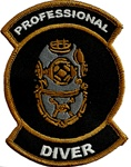 Professional Diver Wholesale Price   10 patches
